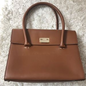 Kate Spade Structured Brown Tote